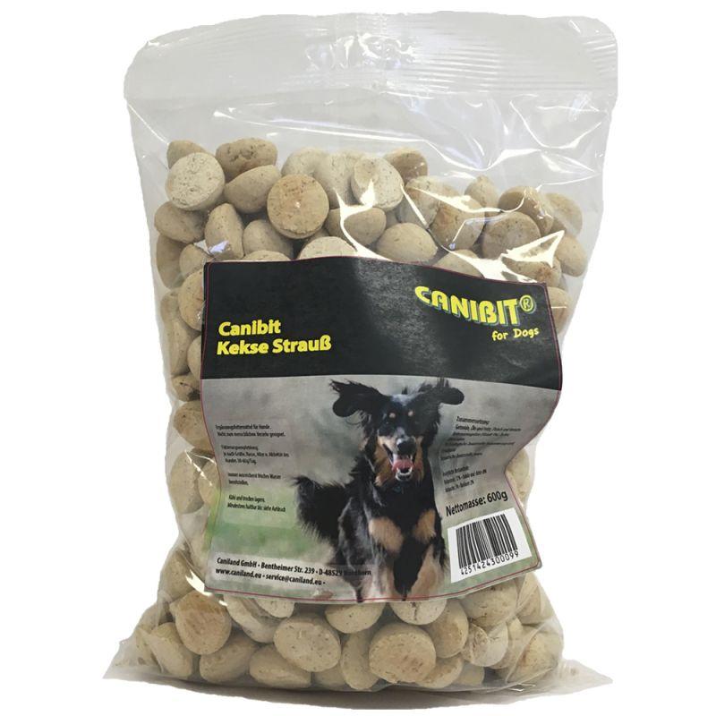 600 g CANIBIT pštrosí keksy