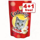 65g Catessy Crunchy Snacks – 4 + 1 Free!*