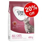 400g Concept for Life Dry Cat Food - 20% Off!*