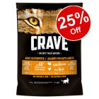 750g Crave Adult Dry Cat Food - 25% off!*