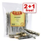 50g Dibo Salmon Skin Dog Treats - 2 + 1 Free!*