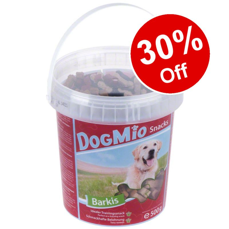 500g DogMio Barkis (semi-moist) - 30% Off!*