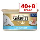 85g Gourmet Gold Wet Cat Food - 40 + 8 Free!*
