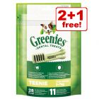85g Greenies Canine Dental Chews - 2 + 1 Free!*