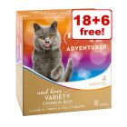 85g My Star is an Adventurer Mixed Pack Wet Cat Food - 18 + 6 Free!*