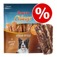 200g Rocco Chings Steak Style - 3 + 1 Free!*