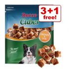 150g Rocco Cubes - 3 + 1 Free!*