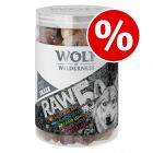 450g Wolf of Wilderness RAW 5 Mix Freeze-dried Snacks - Special Price!*