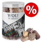 150g Wolf of Wilderness RAW 5 Mix Snacks - Buy One Get One Half Price!*