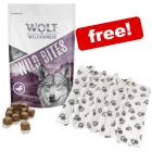 180g Wolf of Wilderness Wild Bites Dog Snacks + Pawty Fleece Blanket Free!*