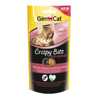 GimCat Crispy Bits Anti-Hairball snacks para gatos