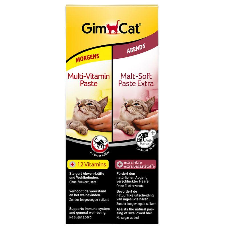 GimCat Multivitamin + Malt Dual Pack