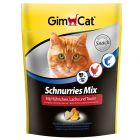 GimCat Schnurries Mix snacks com taurina para gatos
