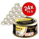 GimCat ShinyCat Filetto 24 x 70 g
