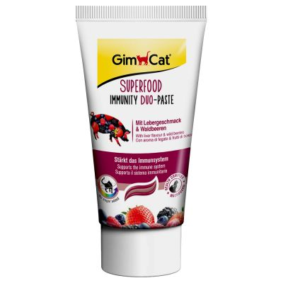 GimCat Superfood Immunity Duo-Paste