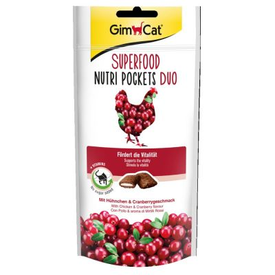 GimCat Superfood Nutri Pockets