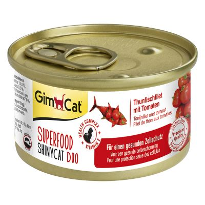 GimCat Superfood ShinyCat Duo 24 x 70 g