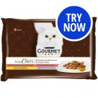 Gourmet A La Carte Mixed Trial Pack 4 x 85g