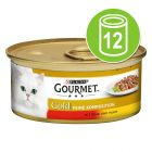 Gourmet Gold Delicacies in Sauce 12 x 85g