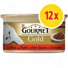 Gourmet Gold Delicatesse in Saus 12 x 85 g