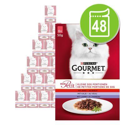 Alimento Umido Per Gatti Gourmet Mon Petit 48 X 50 G Zooplus