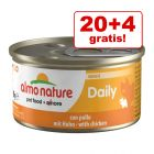 20 + 4 gratis! Almo Nature Daily Menu 24 x 85 g