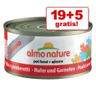 19 + 5 gratis! Almo Nature Legend 24 x 70 g