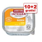 10 + 2 gratis! Animonda Integra, 12 x 100 g
