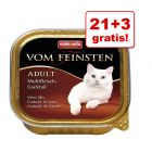 21 + 3 gratis! Animonda vom Feinsten Adult, 24 x 100 g