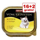 16 + 2 gratis! Animonda vom Feinsten Kitten, 18 x 100 g