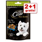 2 + 1 gratis! Cesar Mini Snacks