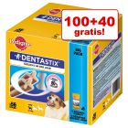 100 + 40 gratis! 140 Pedigree Dentastix / Dentastix Fresh