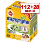 112 + 28 gratis! Pedigree DentaStix Fresh, 140 szt.