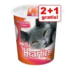 2 + 1 gratis! Smilla Toothies lub Hearties, 3 x 125 g