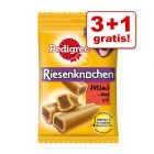 3 + 1 gratis! 4 stk. Pedigree Snacks