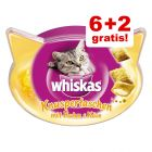 6 + 2 gratis! Whiskas Snacks
