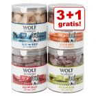 3 + 1 gratis! Wolf of Wilderness - Gefriergetrocknete Premium-Snacks
