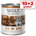 10 + 2 gratis! Wolf of Wilderness 12 x 800 g