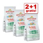 2 + 1 gratis! 3 x 400 g Almo Nature Holistic Mix Pack