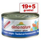 19 + 5 gratis! 24 x 70 g Almo Nature Legend