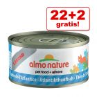 22 + 2 gratis! 24 x 70 g Almo Nature Legend