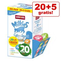 20 + 5 gratis! 25 x 15 g Animonda Milkies Selection Edizione Anniversario