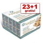 23 + 1 gratis! 24 x 70 g Applaws Adult Conserve