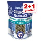 2 + 1 gratis! 3 x 50 g Forza 10 Crunchy Sea Snacks