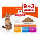 9 + 3 gratis! 12 x 85 g Hill's Science Plan Feline assortito