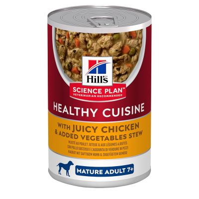 9 + 3 gratis! 12 x 354 g Hill's Science Plan Healthy Cuisine Spezzatino