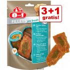 3 + 1 gratis! 4 x 80 g 8in1 Pro fileter