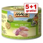 5 + 1 gratis! 6 x 200 g MAC´s Cat
