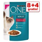 8 + 4 gratis! 12 x 85 g Purina ONE