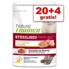 20 + 4 gratis! 24 x 85 g Trainer Natural